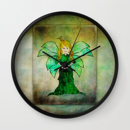 Fairy Princess Wall Clock