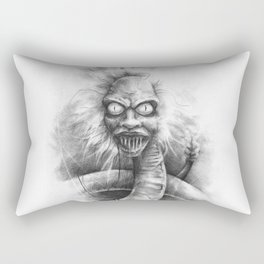 The Bio Exorcist Rectangular Pillow
