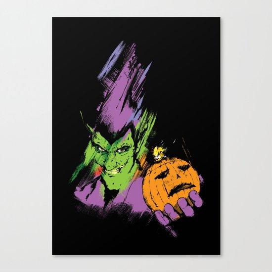 The Green Goblin Canvas Print