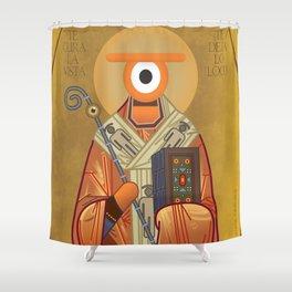 san ojo Shower Curtain