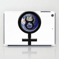 taurus iPad Cases featuring Taurus by IRIS Photo & Design