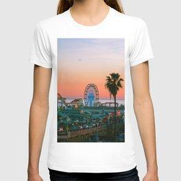 Sunset on the Pier T-shirt