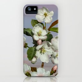 Spade's Apple Blossoms iPhone Case