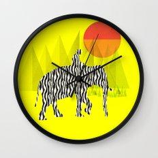 Zelephant - Mahout & Elephant Wall Clock