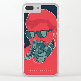 Baby Driver Clear iPhone Case