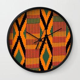Kente Wall Clock