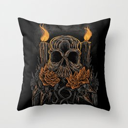 Offering Death Throw Pillow