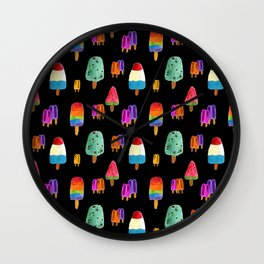 Ice Pops' Wall Clock