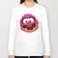 muppets Long Sleeve T-shirts featuring Animal Muppets Babies by Roe Mesquita