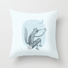'Contemplation' Throw Pillow