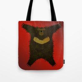 Bear skin rug Tote Bag