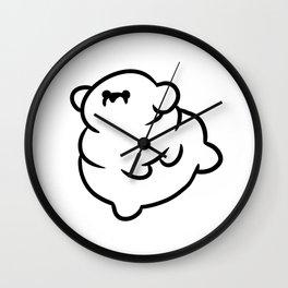 Chubby Doggo Wall Clock