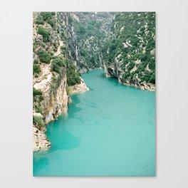 Verdon Gorge, France Canvas Print