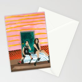 porch bed Stationery Cards