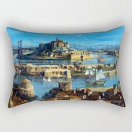 Atlantis Rectangular Pillow