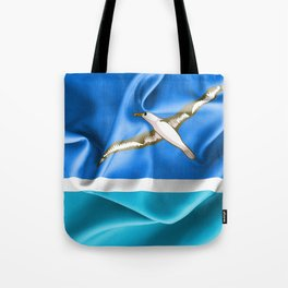 Midway Islands Flag Tote Bag