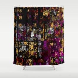 Beautiful Grunge Shower Curtain