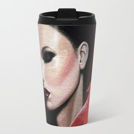 Dame Kardinal trois Travel Mug