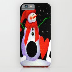 Snowman Love iPhone 6s Slim Case