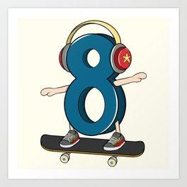 Sk8er (Skater) Art Print
