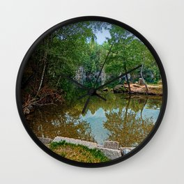 Romantic moments at the lake | waterscape photography Wall Clock