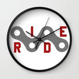 Ride (Chain) Wall Clock