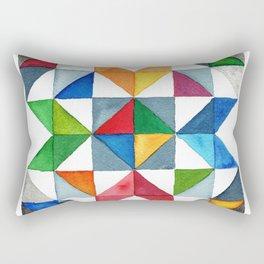 Barn Quilt Rectangular Pillow