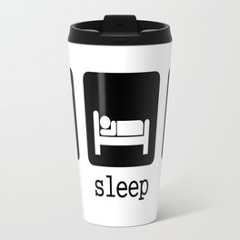 Eat, sleep, play Travel Mug