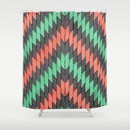 ZigZag 2 Shower Curtain