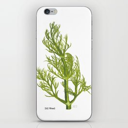 Dill Plant iPhone Skin