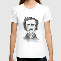 edgar allan poe T-shirts featuring Edgar Allan Poe by Sydney Morrow