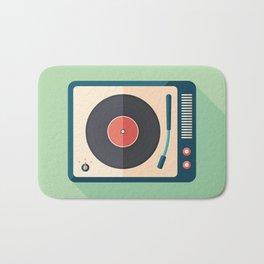 Vinyl Player Bath Mat