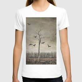 A Tree And Crows T-shirt