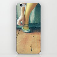 good morning iPhone & iPod Skins featuring Good Morning by Cassia Beck