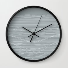Unstable Lines Wall Clock