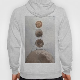 Aspirazioni volanti delle piccole lune - The flying longing of the little moons Hoody