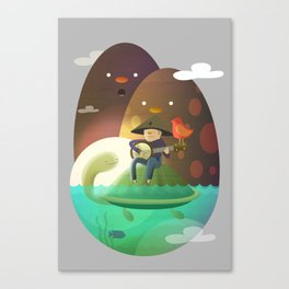 Island Lullaby Canvas Print
