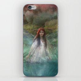 Dragonfly Fairy iPhone Skin
