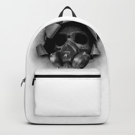 Gas Mask Skull Backpack
