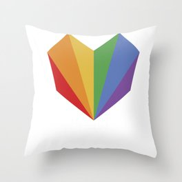 U=U Undetectable Equals Untransmittable HIV Awareness design Throw Pillow