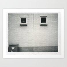 b+w tilburg Art Print