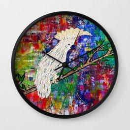 COCKATOO ISLAND Wall Clock