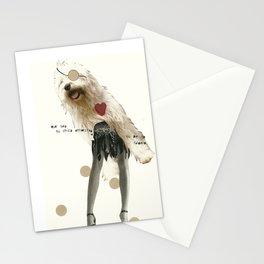 perrito faldero Stationery Cards