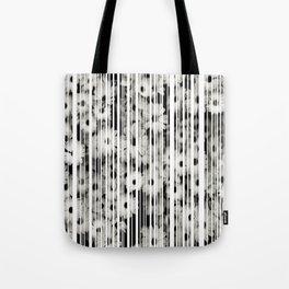 Flower Bars Tote Bag