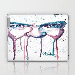 Bowie Watercolor  Laptop & iPad Skin