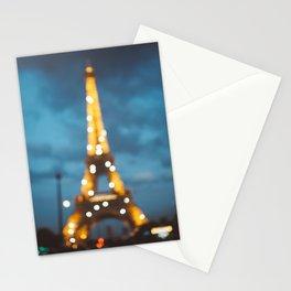 Paris Eiffel Tower Stationery Cards