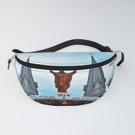 Church and Archway Fanny Pack