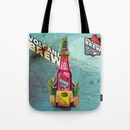 Volcano Brew - I lava you! Tote Bag