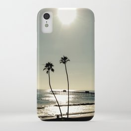 San Clemente Sunset iPhone Case
