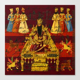 THE INDIAN KING Canvas Print